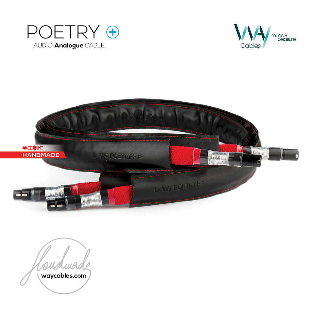 POETRY Plus interconnect cable