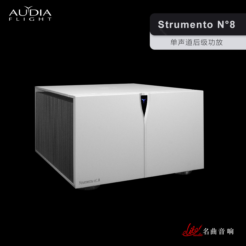 STRUMENTO N°8 Mono-block Power Amplifier